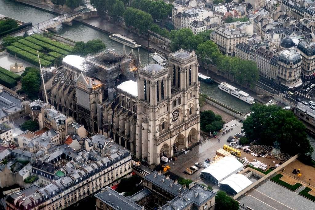 Hétfőn megkezdődik a Notre-Dame felújítása