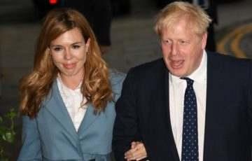 Kisfia született a brit miniszterelnöknek