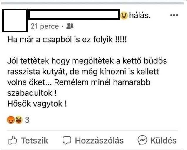 Ezerrel tolják a magyargyűlöletet a cigányok és az antifasiszták a Facebookon